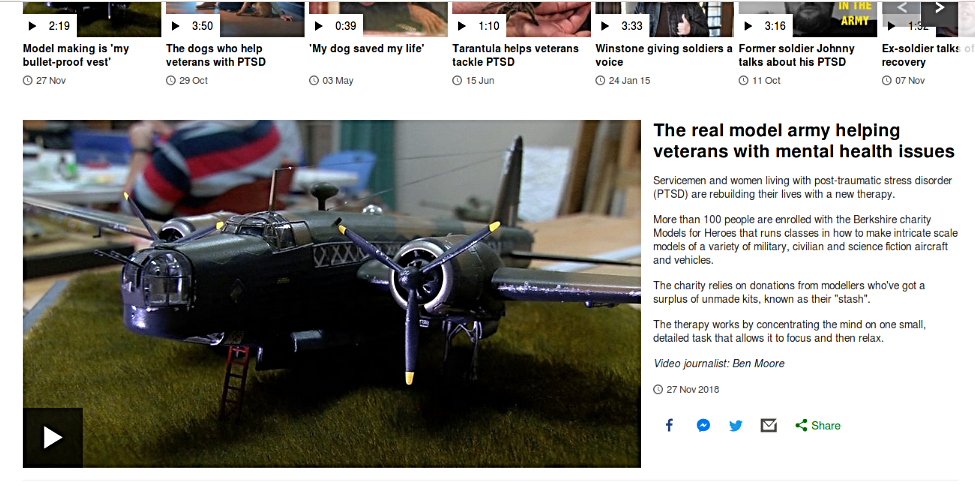 BBC Report on model making benefits