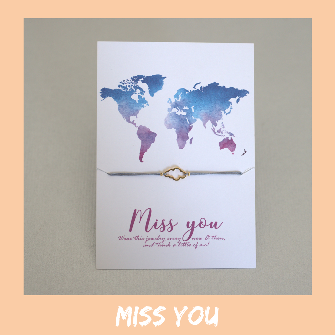 Bracelet Card - Miss You