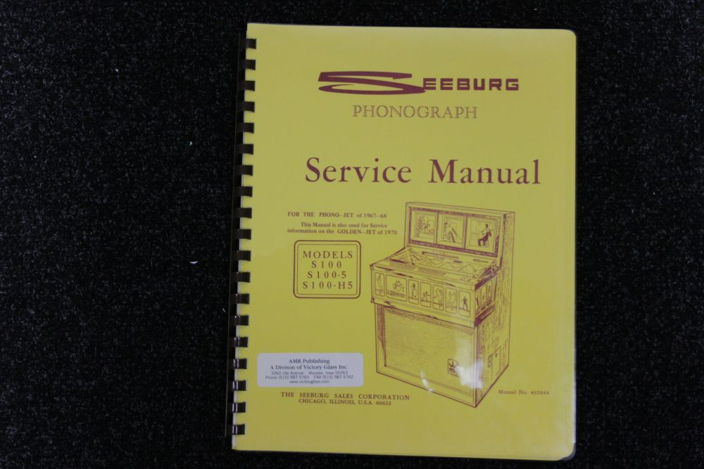 Seeburg - Service Manual - Models S100, S100-5, S100-H5