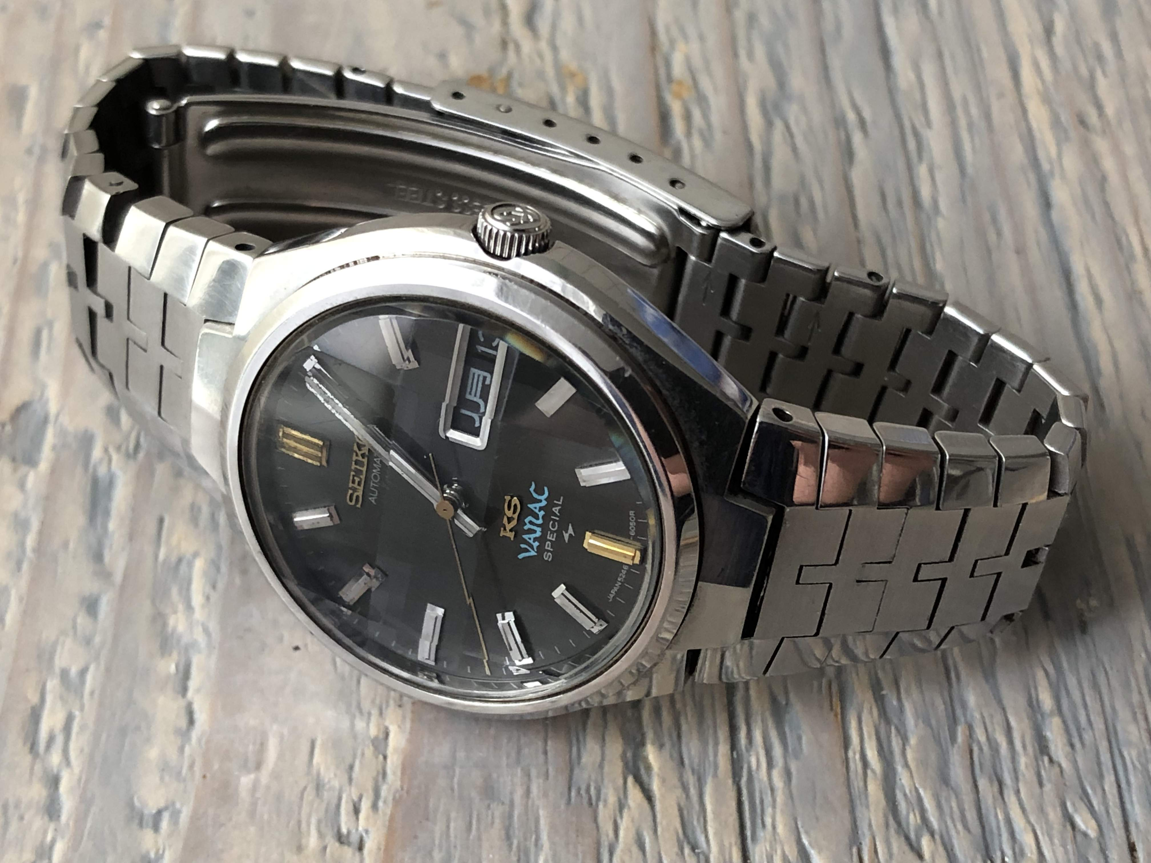 King Seiko Vanac Special 5246-6040 (Sold)