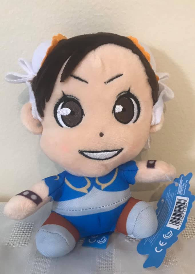"Street Fighter Offical 6"" sitting Chun-Li Plush"