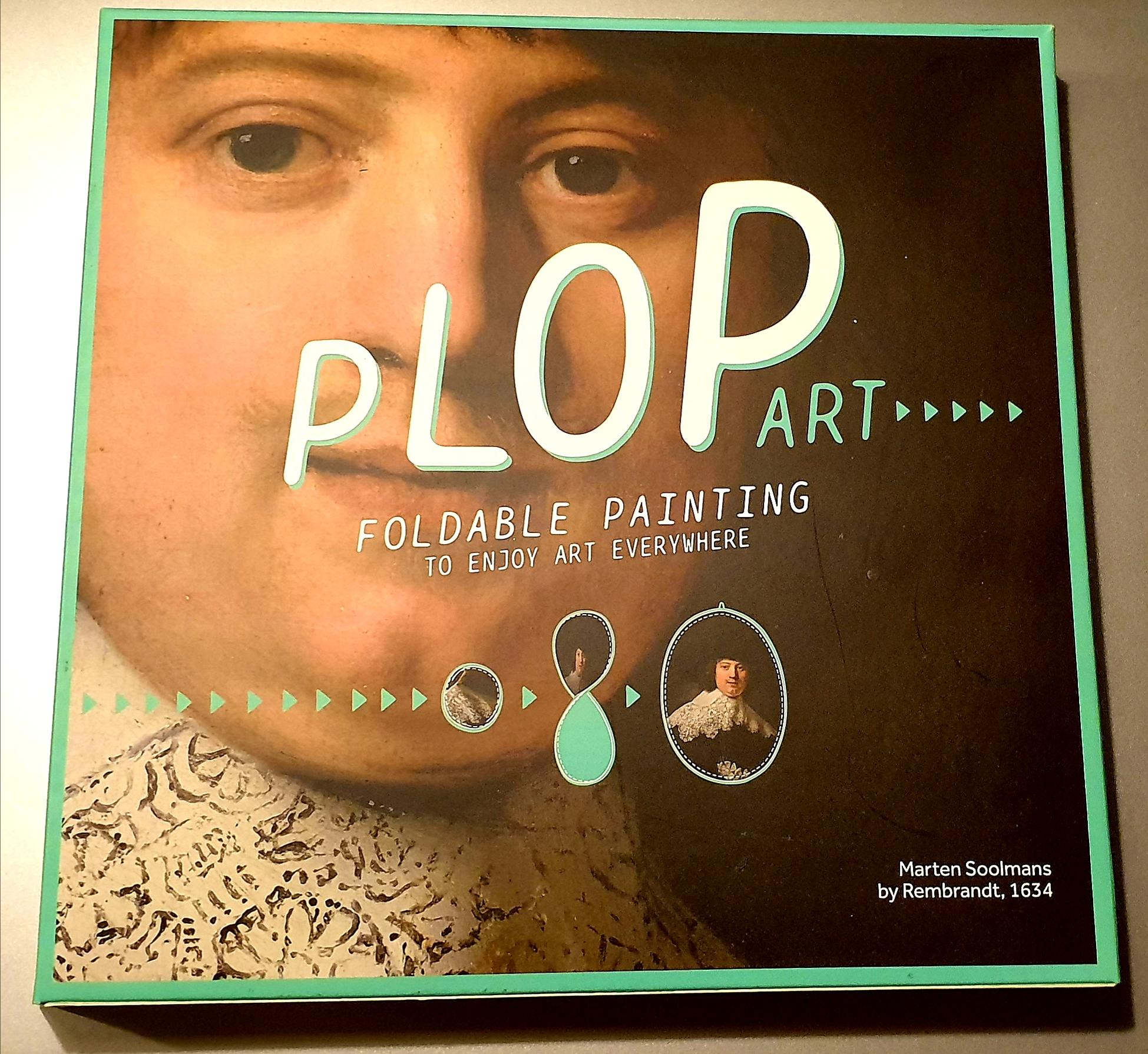 Plop Art, Marten Soolmans, to enjoy art everywhere........... opvouwbare kunstwerken!