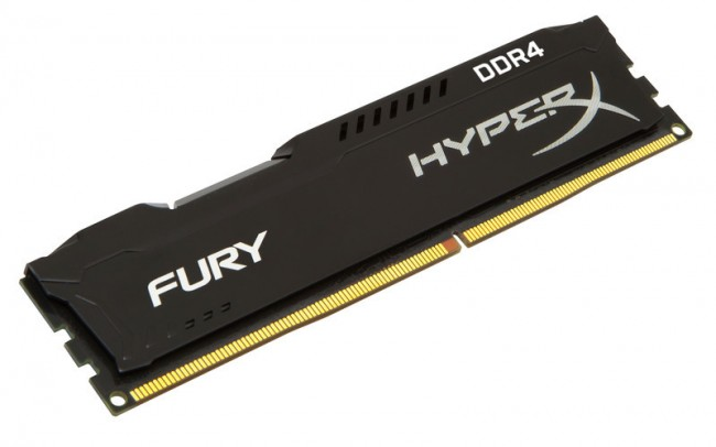 Memoria DDR4 Kingston HYPERX FURY BLK 4GB 2666 MHZ CL15
