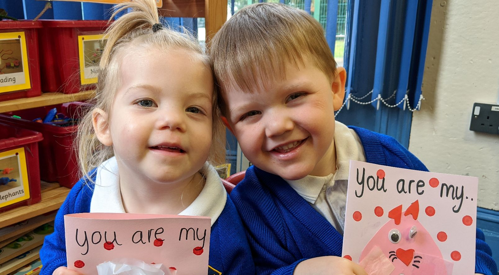 Kidderminster Nursery Celebrates Valentine's Day