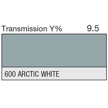 Lee 600 Arctic White Roll