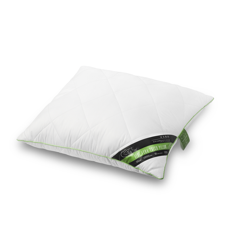 ALOE VERA PILLOW WHITE - 60 X 70 CM