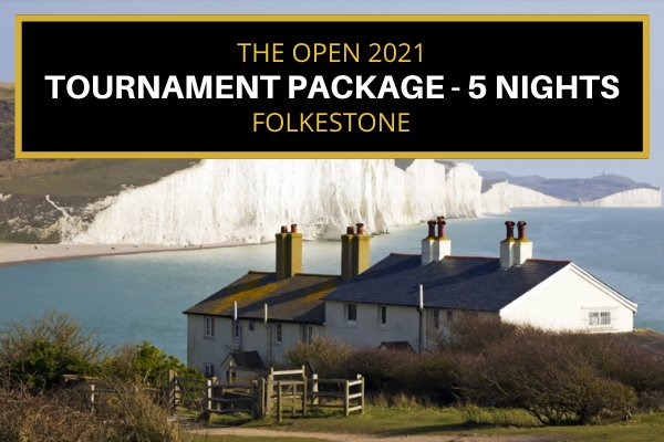 Attend the 2021 Open - 5 Night Tournament Package - Folkestone (36 mins to Sandwich)
