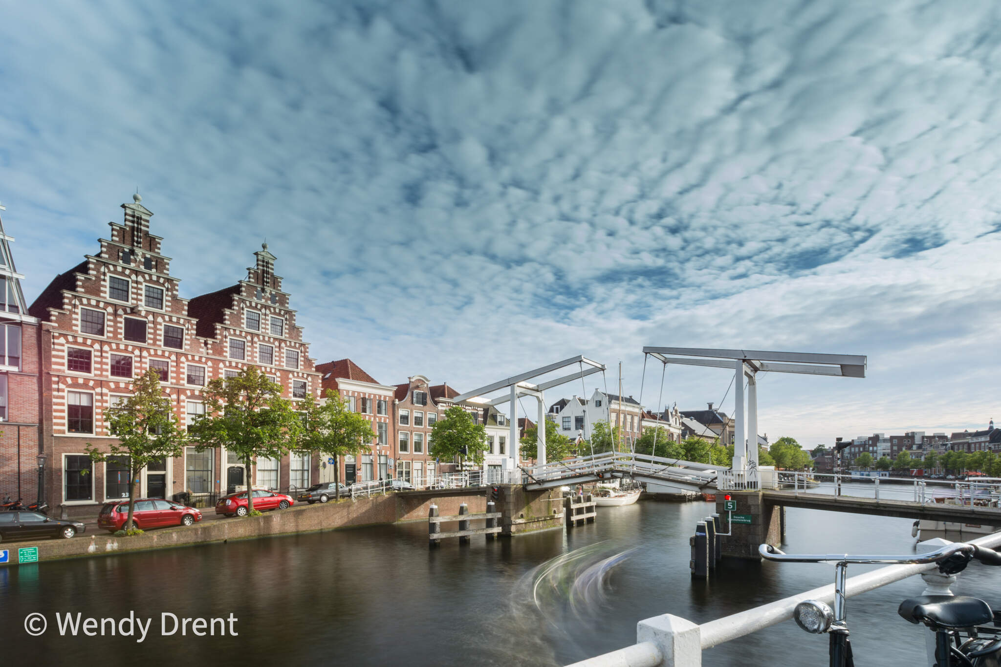 Haarlem, Gravestenenbrug, wendy drent, long exposure,  cityscape, dutch city, noord holland