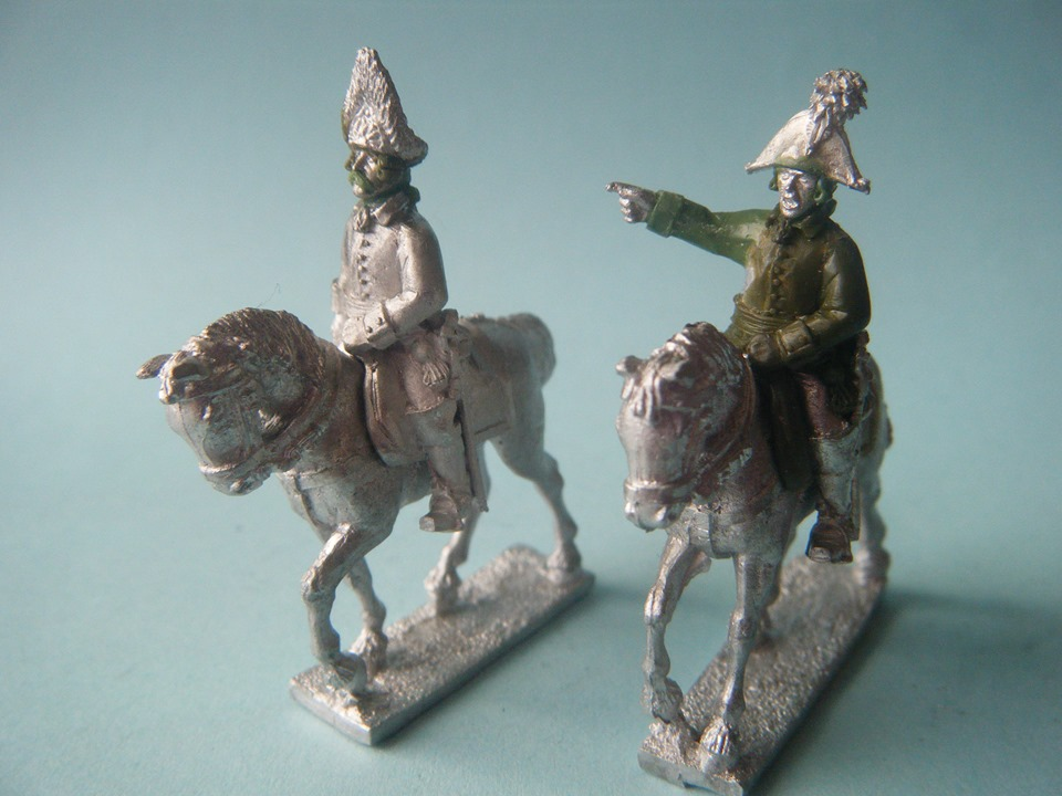 Austrian Mounted Officers