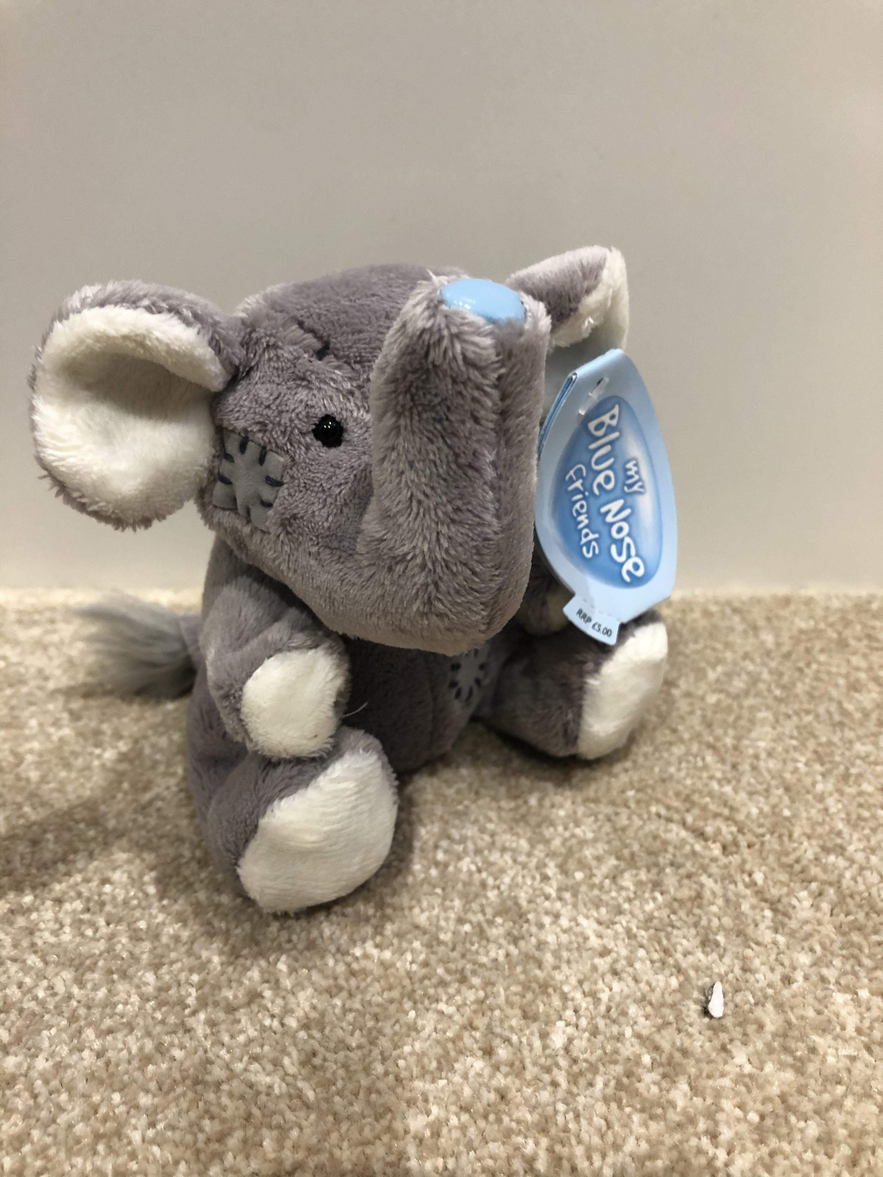 Blue Nose Friend Ziza The Elephant