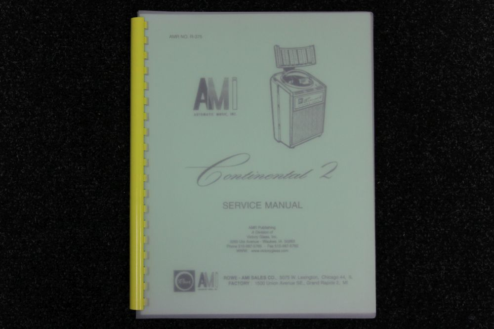 AMI - Service Manual - Continental 2