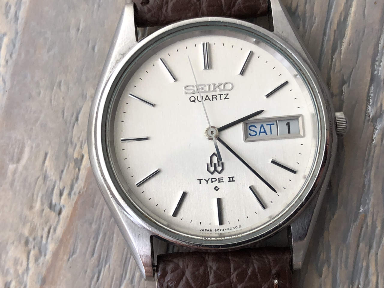 Seiko Quartz Type II 8223-6030 (Sold)