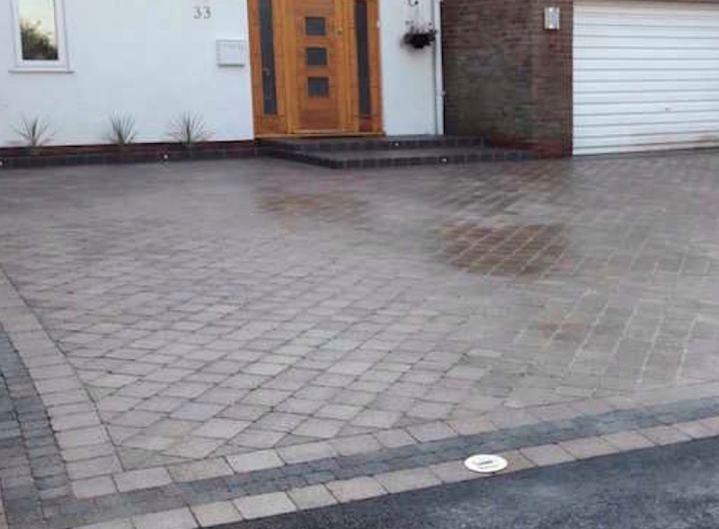 Block paved driveways by M Gaffney & Sons
