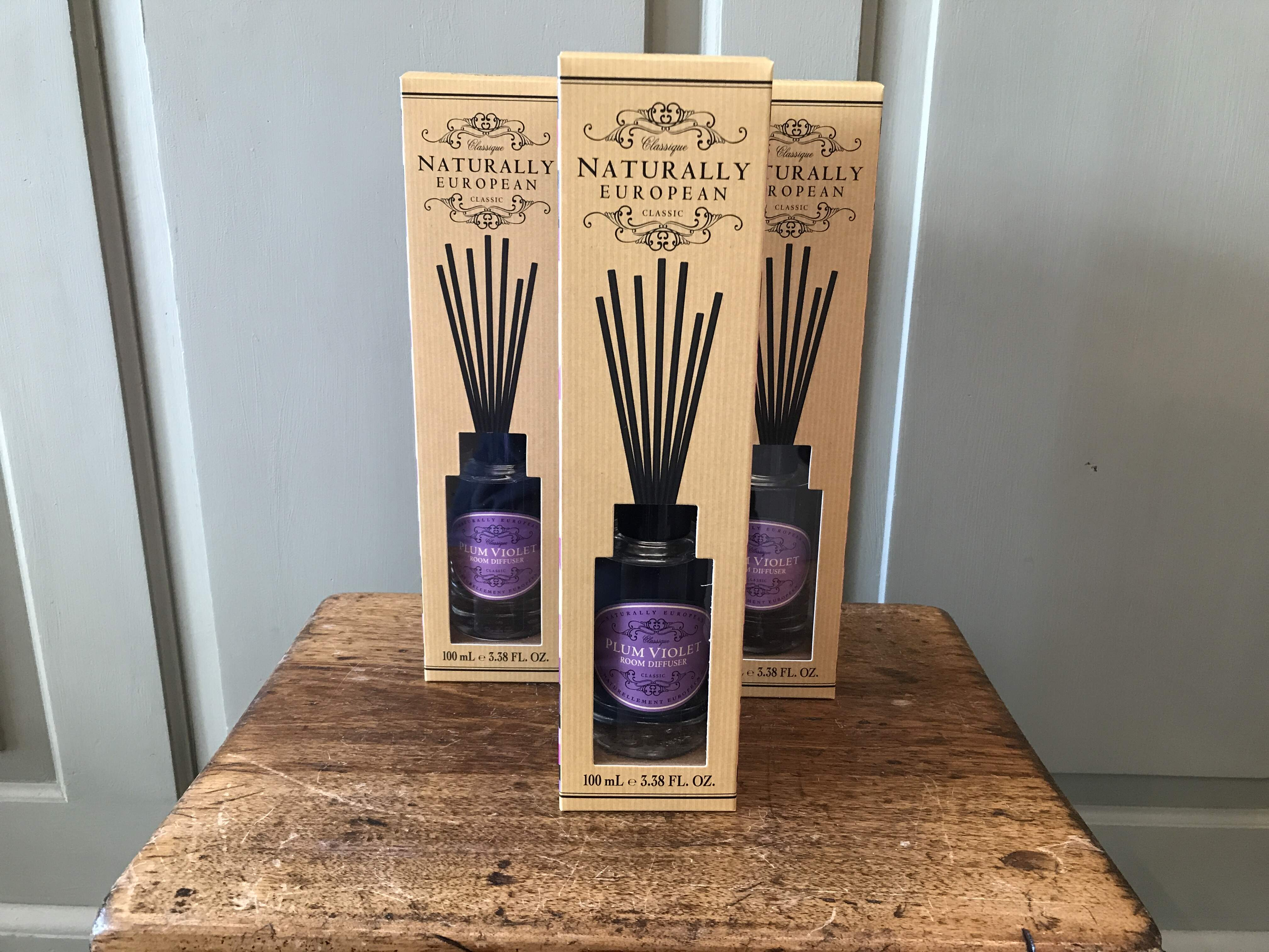 Naturally European Plum Violet Diffuser
