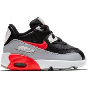 Nike Air Max 90 Wolf Grey-Black-Red