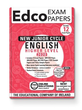 ENGLISH JC EXAM PAPERS - HIGHER LEVEL - EDCO