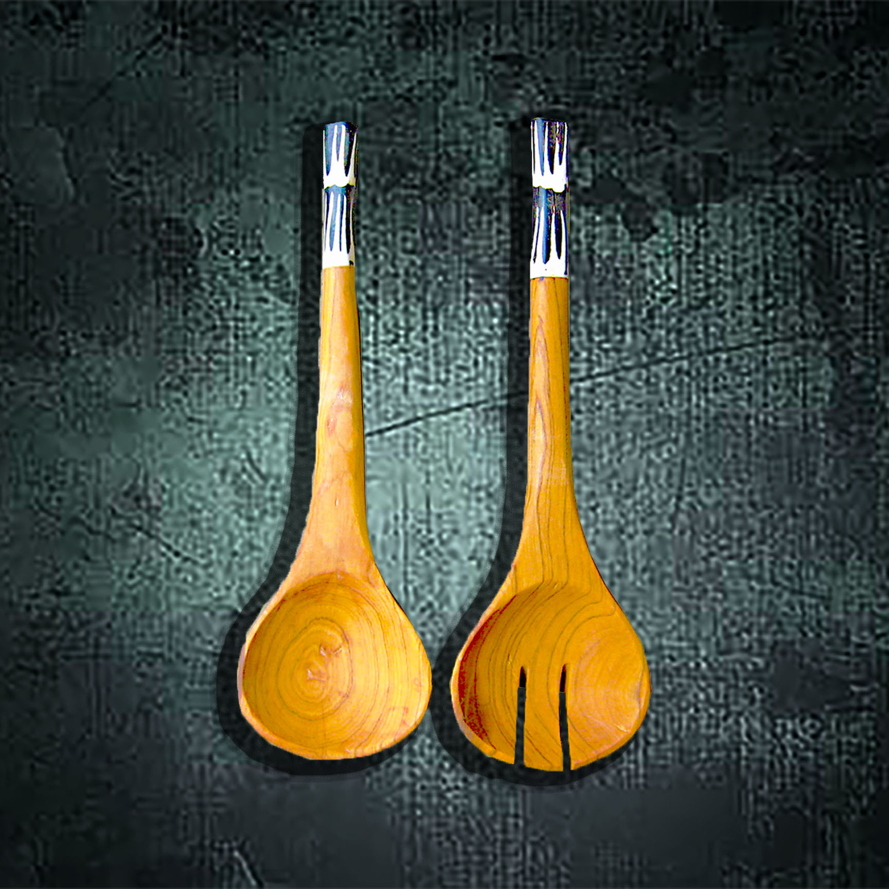 S2 Bone Handle Salad Servers