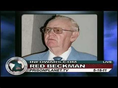Red Beckman on the Alex Jones show