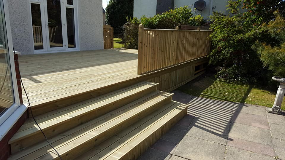 Quality Joinery including Garden Decking