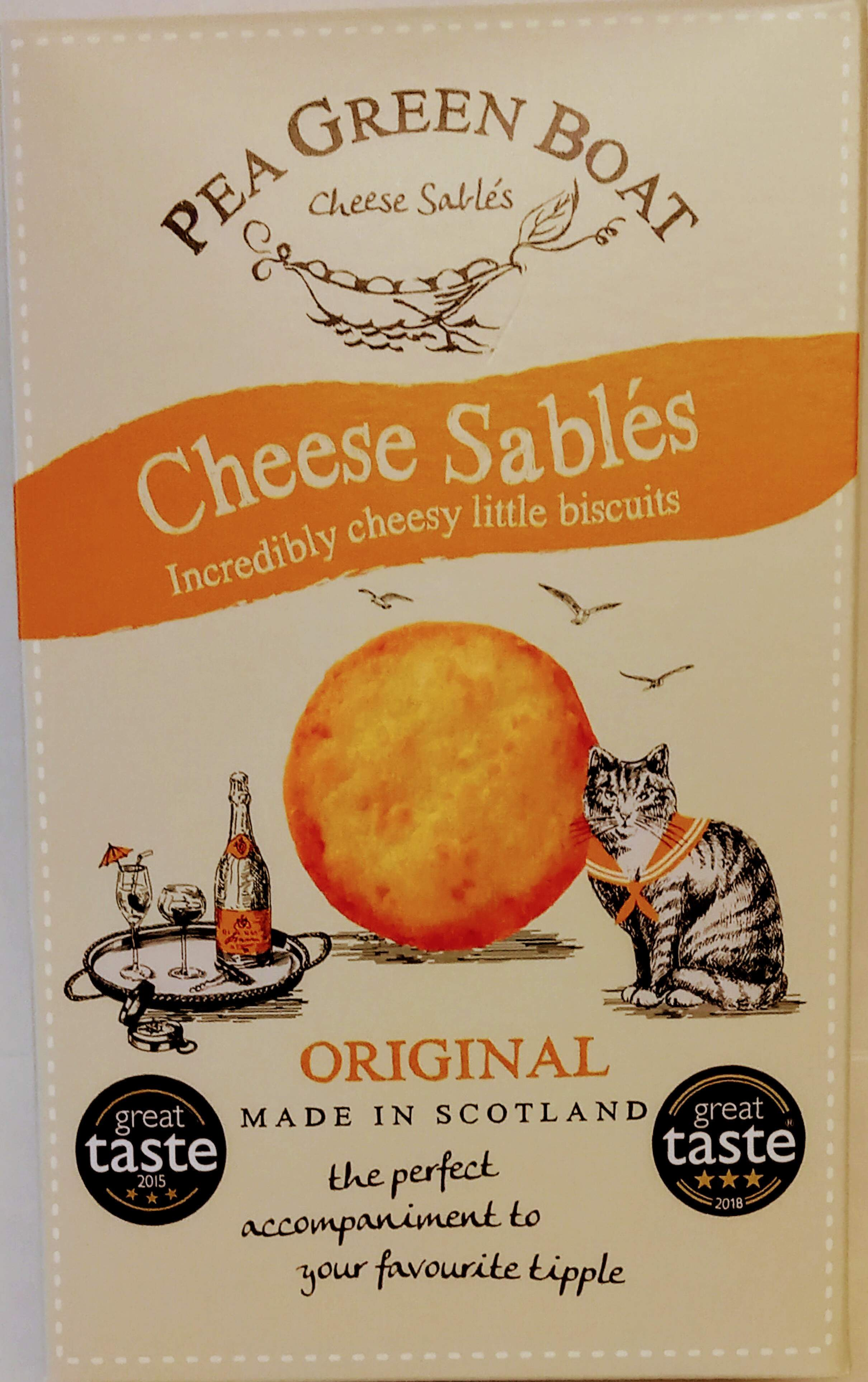 Cheese Sables