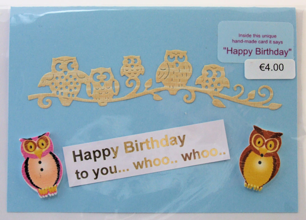 Handmade 'Happy Birthday' Card - 28