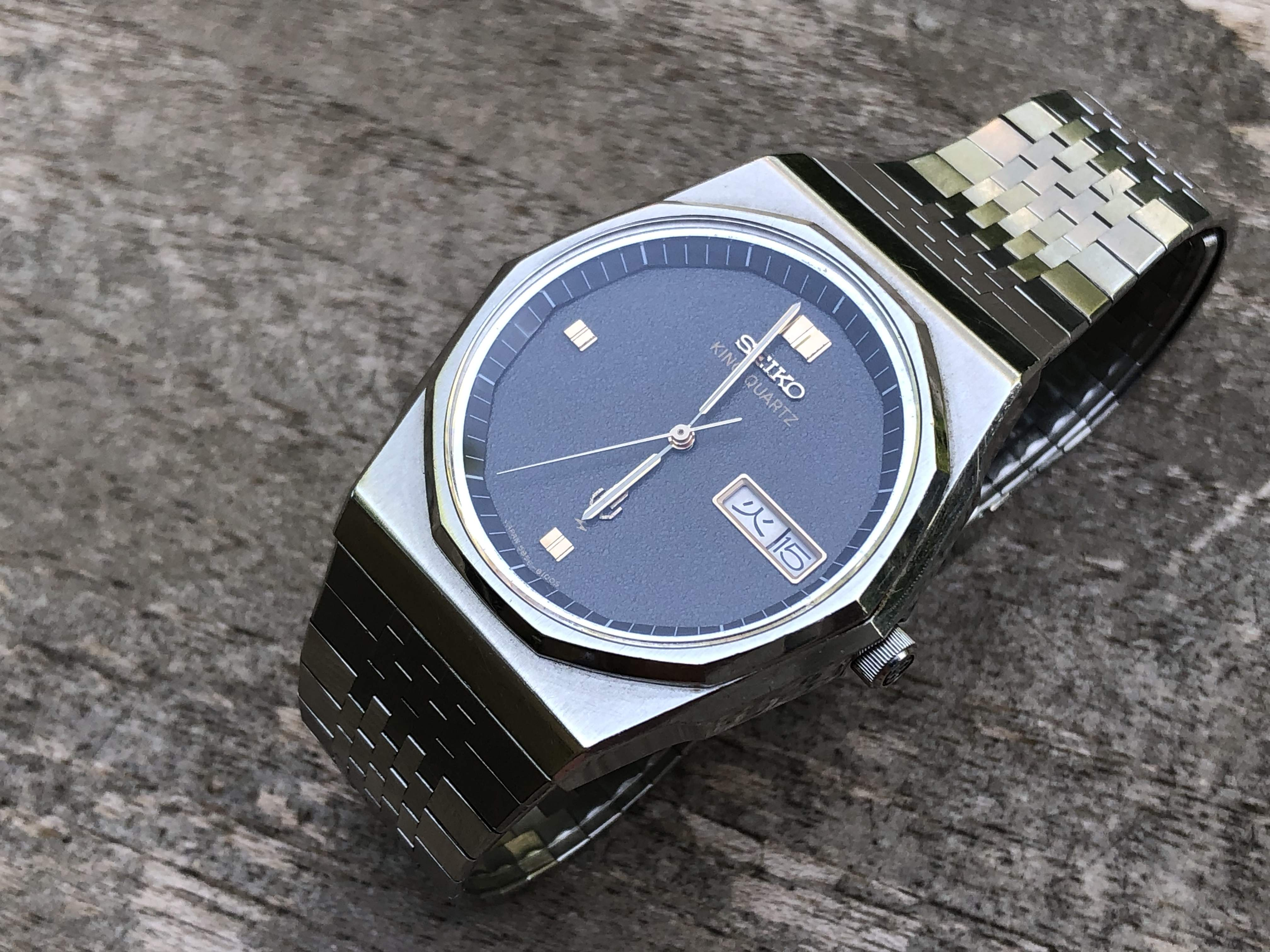 Seiko King Quartz 5856-8080 (Sold)