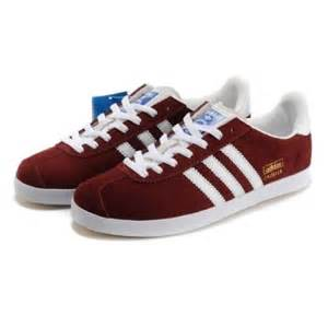 Adidas Gazelle  Wine Red-White