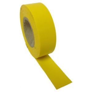 Yellow PVC tape 19mm