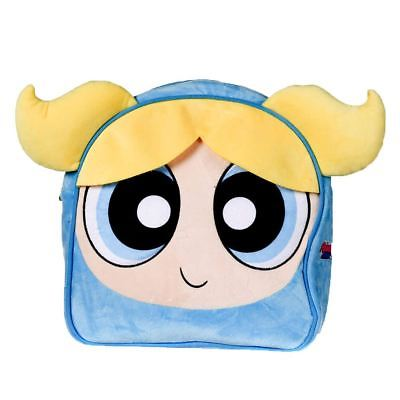 Officially Licensed  Bubbles Powerpuff Girls Character Plush Backpack