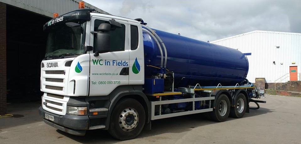 Septic Tank Emptying services Dumfries and Galloway WC In Fields