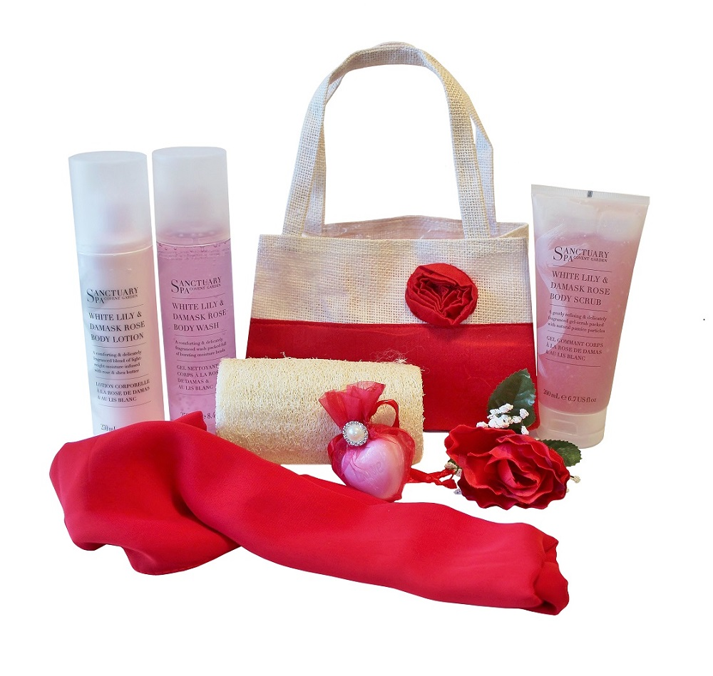 Colour Me Red, Pamper Gift