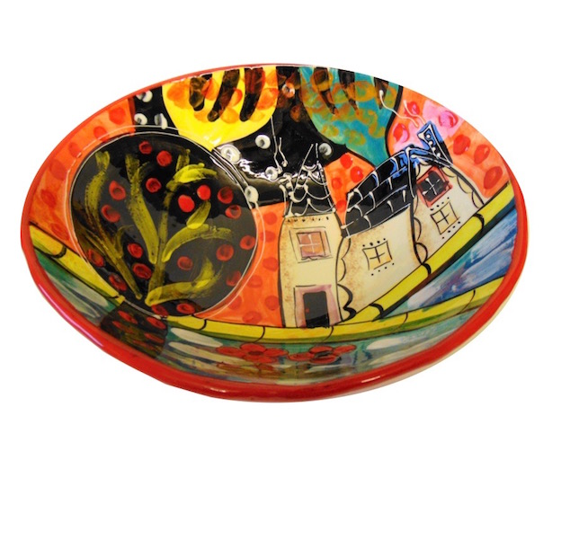 Picasso Large Curvy Bowl
