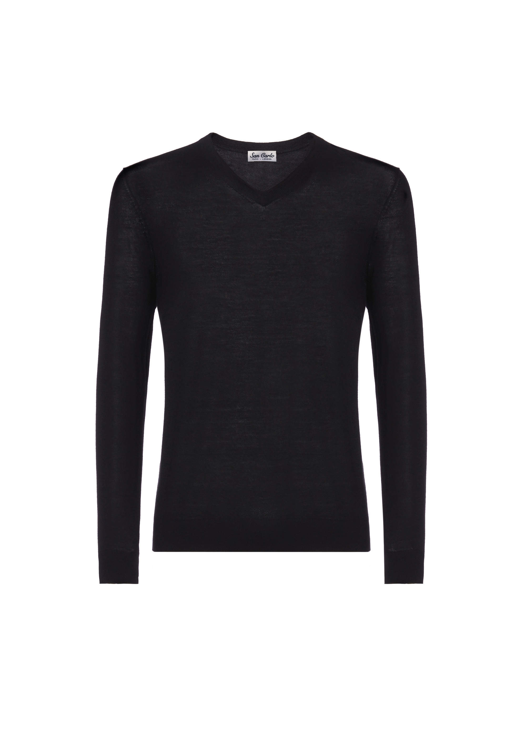 v-neck silk & cashmere black 02.jpg