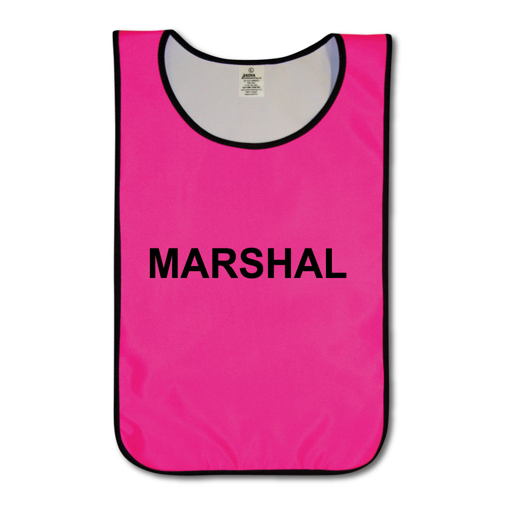 Hi Vis Marshal's Tabards