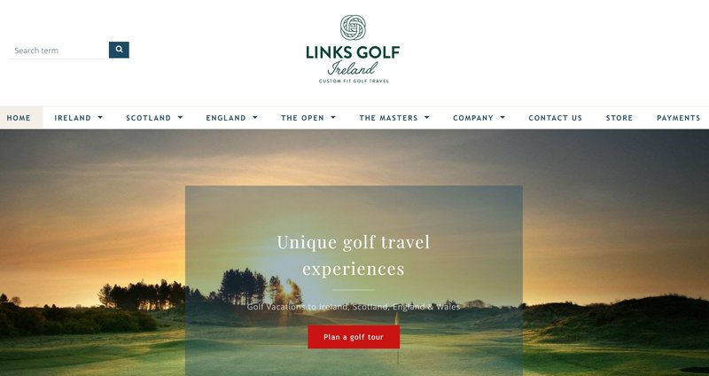 Links Golf Ireland - Tour Operator