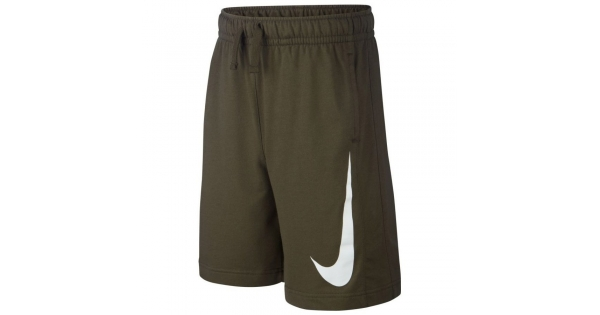 Nike NSW Swoosh Short Army Green-White