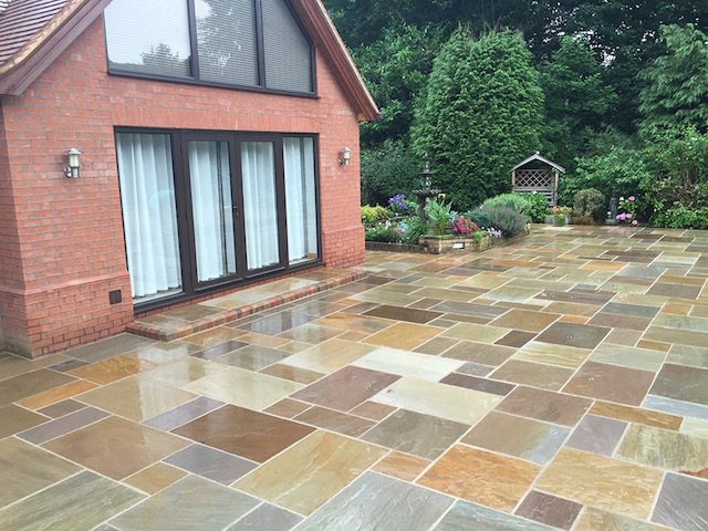 Virginia Water Patio builders Block Paving Surrey
