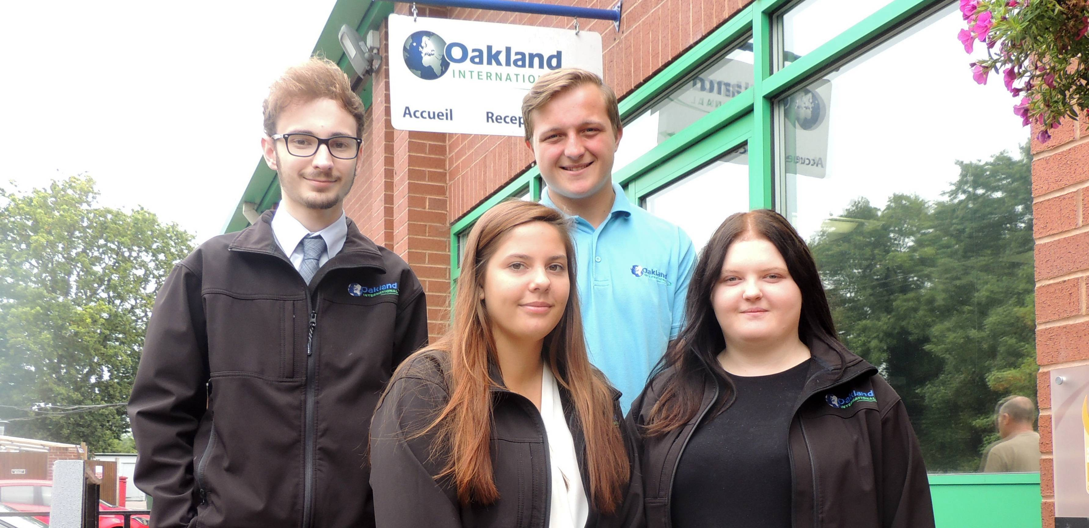 Apprenticeship Scheme Enjoys Success at Oakland International