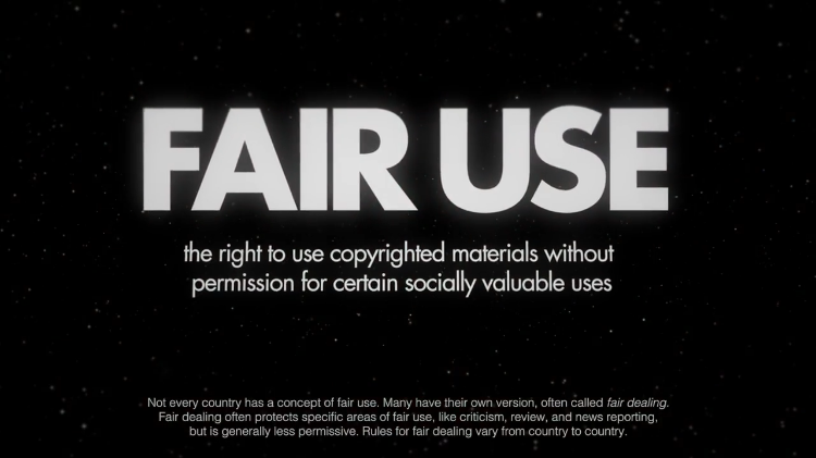 Fair Use Graphic