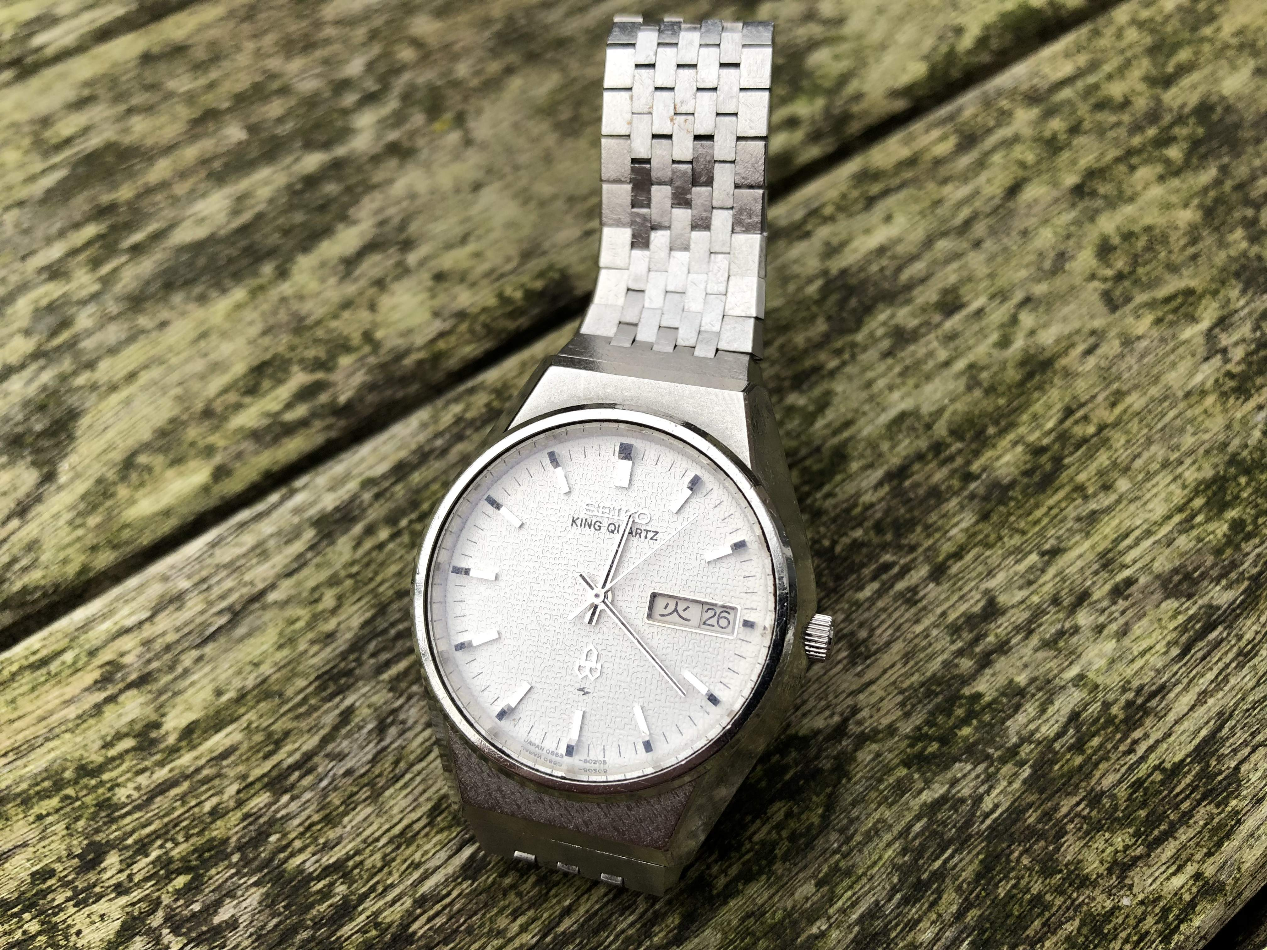 Seiko King Quartz 0853-8020 (sold)