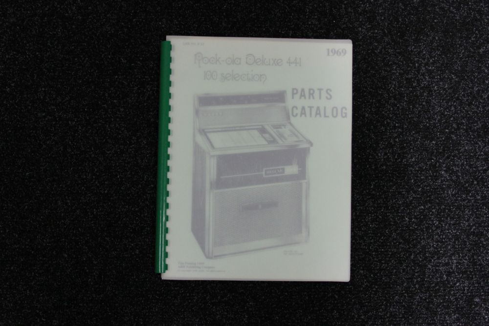 Rock-ola - Parts Catalog - Model 441