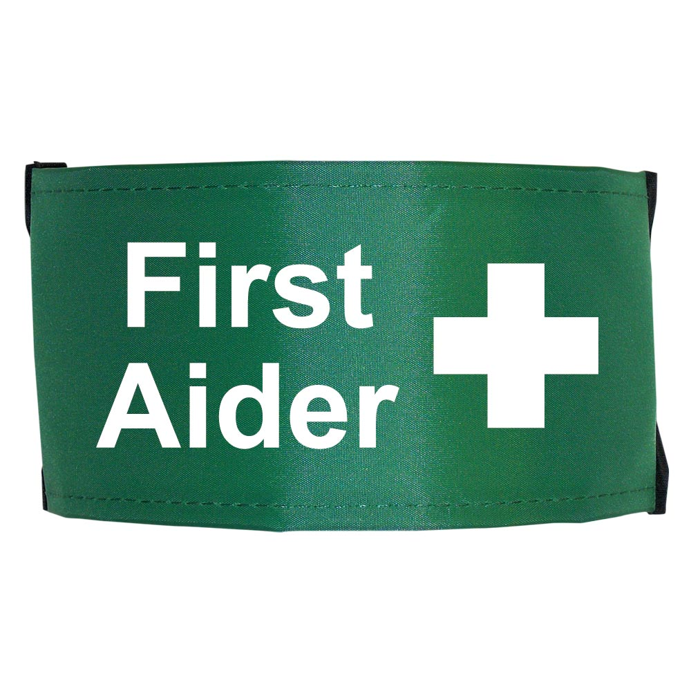 First Aider Nylon Armbands