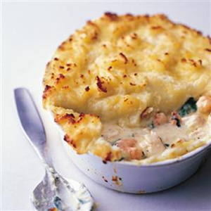 Luxury Seafood Pie
