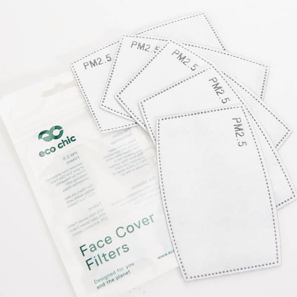 Eco Chic Face Cover Filters