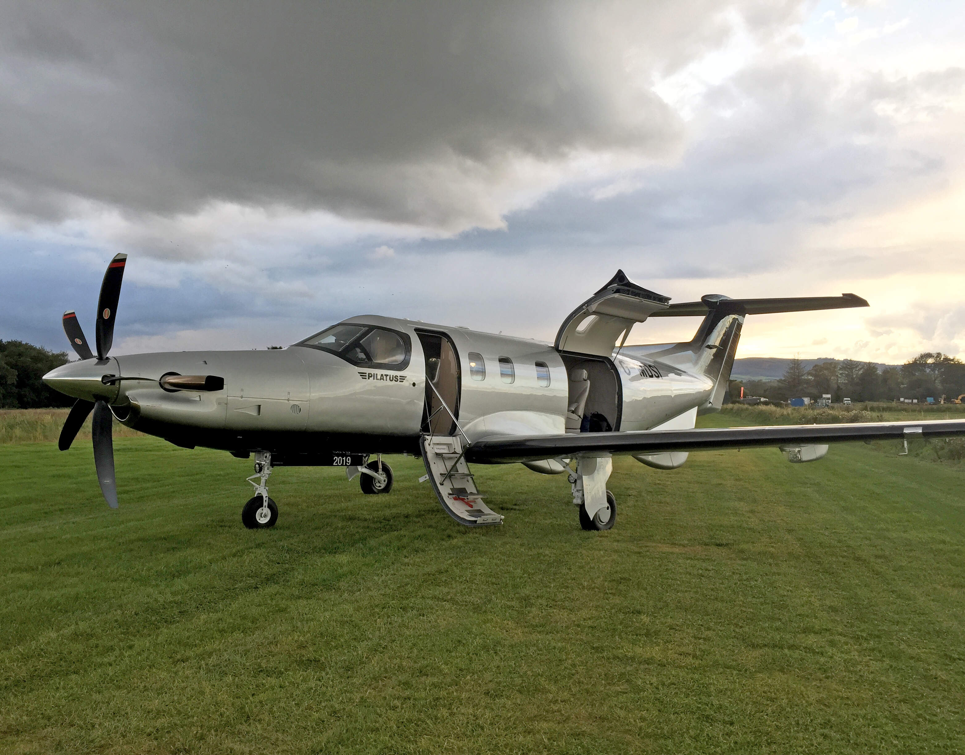 Pilatus PC-12NGX shows off its versatility in Ireland