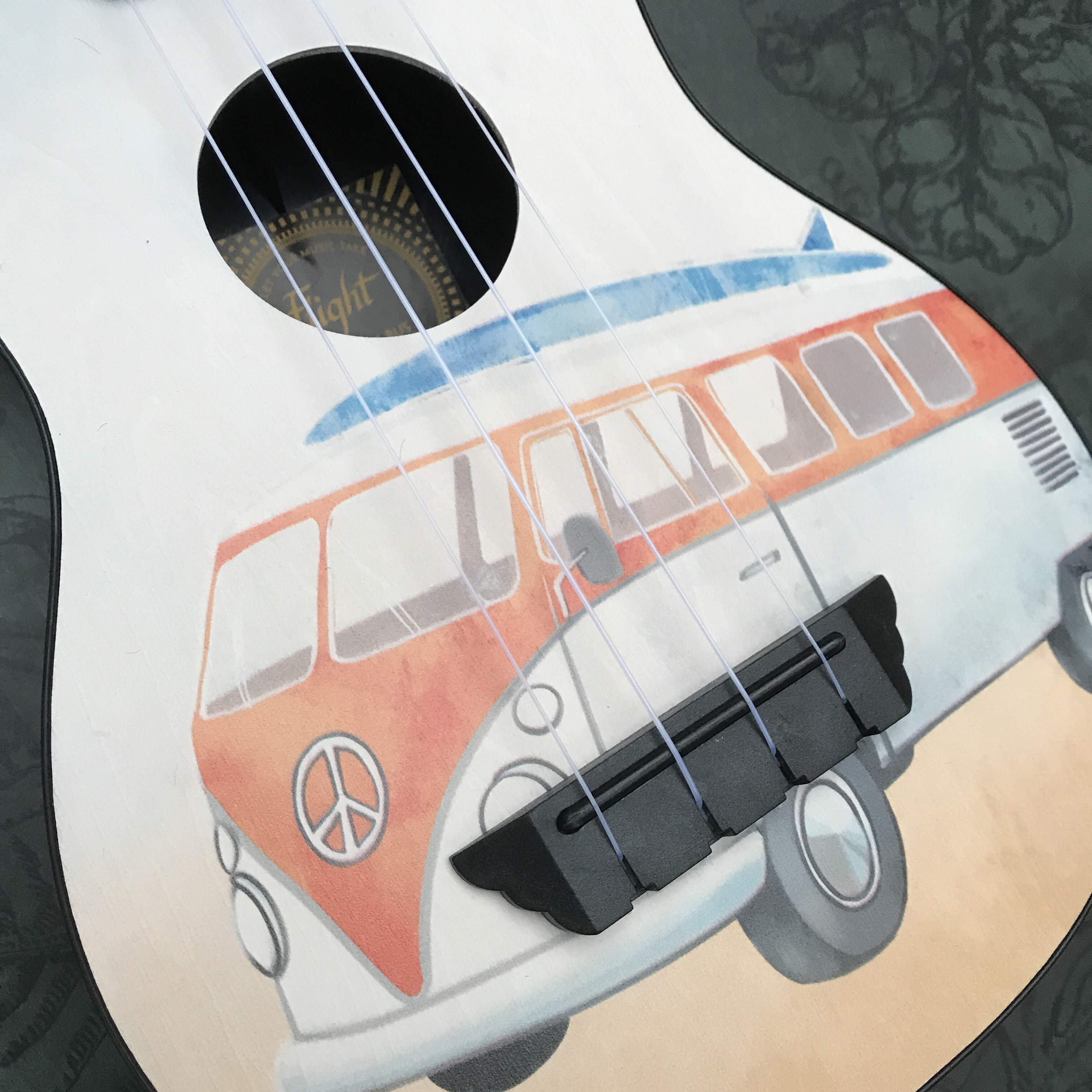 Flight travel vw surf bus