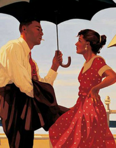Bad Boy Good Girl Jack Vettriano Limited Edition Artist Proof Print