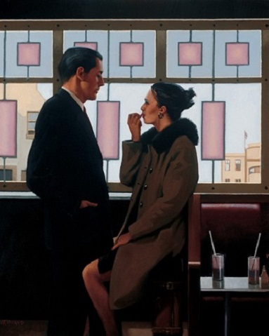Jack vettriano along came a spider