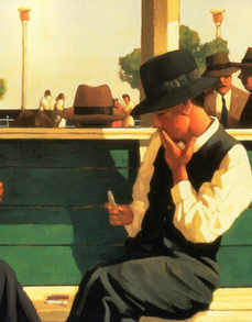 The Duelists Open Edition Print Jack Vettriano