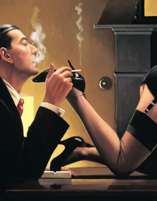 Fetish Limited Edition Print Jack Vettriano